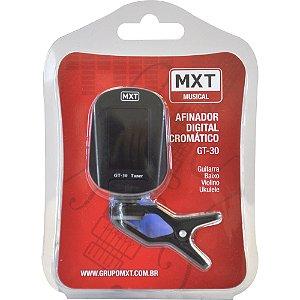 MX Afinador Digital Cromático GT-30 CLIP