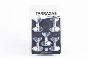 PAGANINI TARRAXA PARA CONTRA BAIXO 2 + 3 CROMADO (JOGO) PTB761