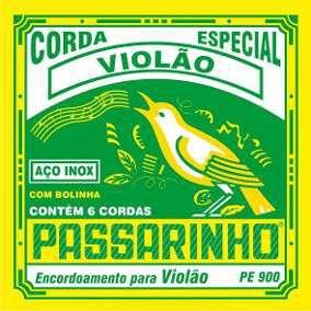 Paganini Jogo De Corda Passarinho Violão Pe900