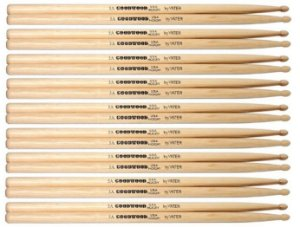 Vater Goodwood Kit 9 Pares De Baquetas Hickory 5a Pm Gw5aw