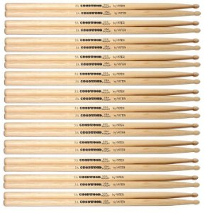 Vater Goodwood Kit 12 Pares De Baquetas Hickory 5a Pm Gw5aw