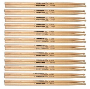 Vater Goodwood Kit 12 Pares De Baquetas Hickory 7a Pm Gw7aw