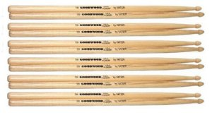 Vater Goodwood Kit 06 Pares De Baquetas Hickory 5b Pm Gw5bw
