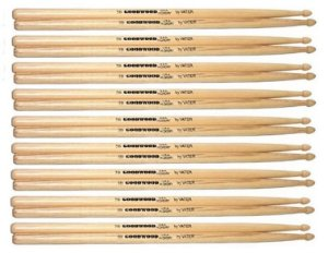 Vater Goodwood Kit 09 Pares De Baquetas Hickory 5b Pm Gw5bw