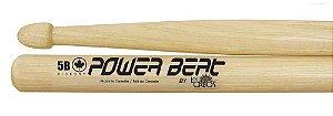 Los Cabos Power Beat Par De Baquetas 5b Hickory Lcdpb5brh