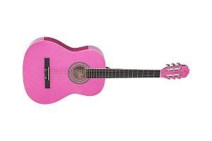 Vogga Violão Acústico Náilon Pink Vca205npk