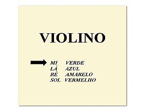 Mauro Calixto Corda Mí Para Violino 4/4