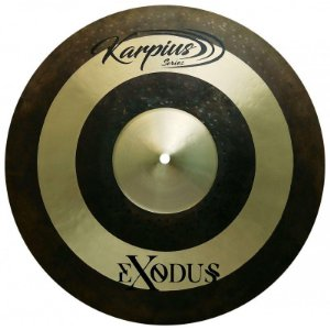 "Karpius EXD Prato Crash 17"" Bronze B20 29445"
