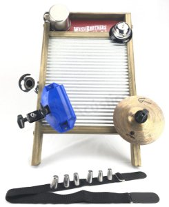 Torelli Washboard Aluzinco Twb39 + Bloco Agudo + Splash 06