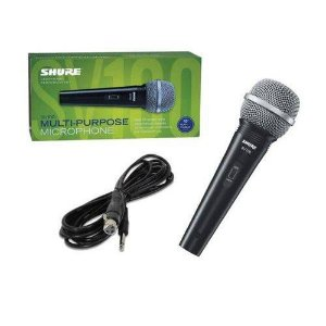 Shure Microfone Vocal C/fio Sv100 Garantia 2 Anos