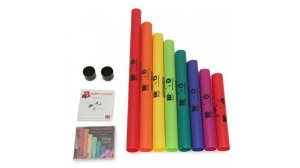 BOOMWHACKERS POWER KIT C/CD E DVD 8 Tubos DO Maior + 2 Tampas BWPP