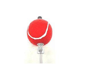Torelli Batedor de Bumbo Bola de Borracha Revestida TBB76