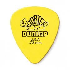 Dunlop Palheta Tortex Amarela 0.73 MM 1343