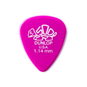 Dunlop Palheta Delrin Rosa Escuro 1.14 MM 1804