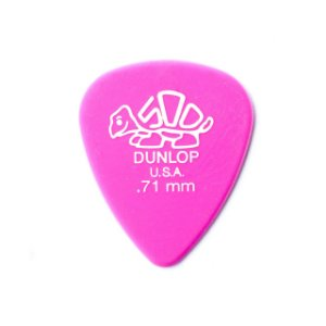 Dunlop Palheta Delrin Pink 0.71 MM 1802