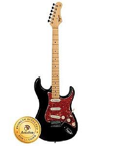 Tagima Guitarra Elétrica Woodstock Preta TG-530BK