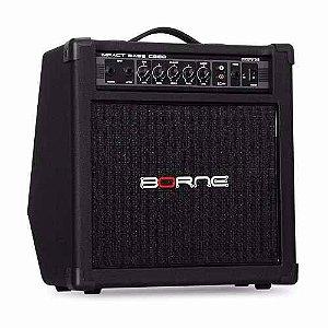 Borne Amplificador p/ Contra Baixo Bass Impact Preto CB80