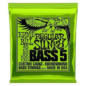 Ernie Ball Encordoamento P/ Baixo 045-130 5 Cordas Slinky