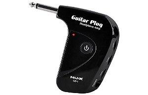 CN NUX Amplificador mini p/ Fone Guitarra Violão Baixo GP1