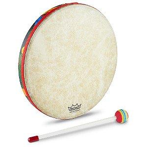 "Remo Hand Drum 10"" Pol Infantil Tambor com batedor KD0110"