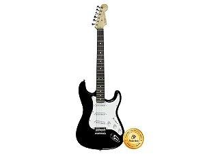 Fender Guitarra Squier Stratocaster Mainstream Black HT506