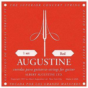 Augustine Jogo De Cordas De Nylon Classic Red