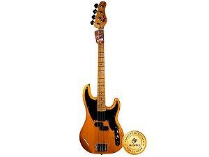 Tagima Contra Baixo Tw 66 Precision Bass 4 Cordas Butterscotch