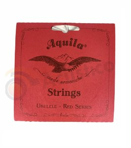 Aquila Encordoamento Ukulele Red Series Soprano High G AQ83U