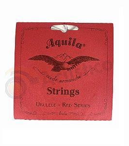 Aquila Encordoamento Ukulele Red Series Soprano High G AQ83U