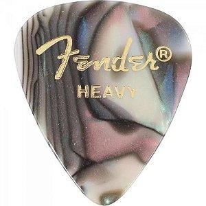Fender Palheta CEL 351 HEAVY ABALONE 67512