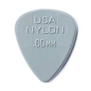 Fender Palheta Branca Nylon .60MM 57894