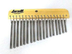 Torelli Carrilhão 18 Barras de Alumínio Natural TA308