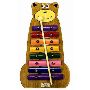 Jog Metalofone Urso Colorido P2236