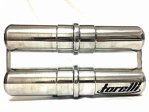 Torelli Ganza Alumínio Polido Duplo 275 com 275 mm TG560