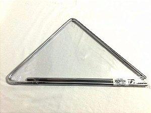 Torelli Triângulo 25 cm Cromado TL600 De Aço Percussão Forró
