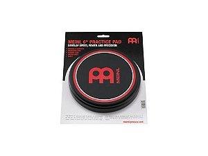 """MEINL 6"""" Practice Pad MPP-6 Estudo de Bateria"""