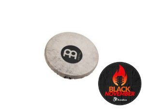 Meinl Headed Spark Shaker Efeito Percussão Couro Metal SH18 Full
