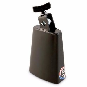 Lp Black Beauty Cowbell LP204A Medium Pitch Bloco Sonoro