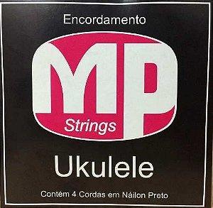 Paganini Jogo Dd Corda Ukulele Náilon MPE480  C/ 4 Cordas