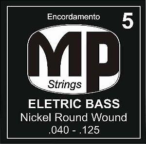 Paganini Jogo De Corda Baixo 5 Cordas MPE650 .040- .125
