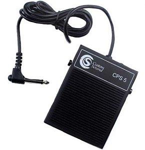 Custom Sound Pedal Sustain Para Teclado Preto CPS5-BK