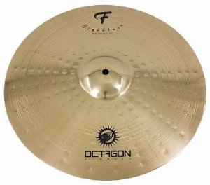 Octagon Medium Crash 16 F Signature FS16MC Prato P/ Bateria