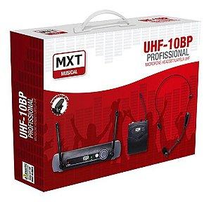 MXT Microfone Lapela Profissional Sem Fio Headset Uhf-10bp