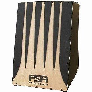FSA Cajon Elétrico Elite Preto FE3301 Com Tapa de 4mm