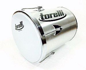 """Torelli Repique de Mão 30 X 10"""" de Alumínio TP214"""