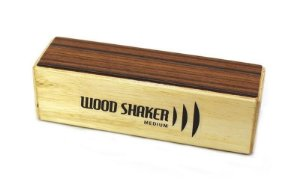 Cajon Percussion Wood Shaker Medium Médio WSMM Ganza