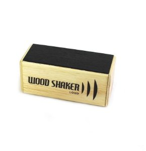 Cajon Percussion Wood Shaker Loud Pequeno WSLP Ganza Chocalho
