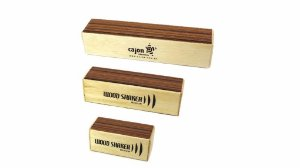 Trio De Wood Shaker Medium P/m/g Cajon Percussion