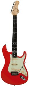Tagima Guitarra EA PRO 3 Fiesta Red Signature Edu Ardanuy