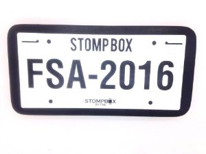 FSA Stomp Box Placa Pedal Efeito Bumbo FSB7004